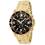Swiss Precimax Men's Tarsis Pro SP13063 Gold Stainless-Steel Swiss Chronograph Watch With Black Dial