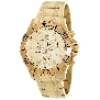 Swiss Precimax Men's Tarsis Pro SP13065 Gold Stainless-Steel Swiss Chronograph Watch With Gold Dial