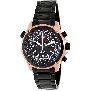 Swiss Precimax Men's Squadron Pro SP13081 Black Stainless-Steel Swiss Chronograph Watch With Black Dial