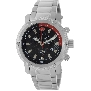 Swiss Precimax Men's Volt Pro SP13082 Silver Stainless-Steel Swiss Chronograph Watch With Black Dial
