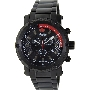 Swiss Precimax Men's Volt Pro SP13084 Black Stainless-Steel Swiss Chronograph Watch With Black Dial