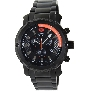 Swiss Precimax Men's Volt Pro SP13085 Black Stainless-Steel Swiss Chronograph Watch With Black Dial