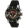 Swiss Precimax Men's Vector Pro Sport SP13090 Black Silicone Swiss Chronograph Watch With Black Dial