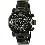 Swiss Precimax Men's Vector Pro SP13094 Black Stainless-Steel Swiss Chronograph Watch With Black Dial