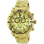 Swiss Precimax Men's Pulse Pro SP13101 Gold Stainless-Steel Swiss Chronograph Watch With Gold Dial