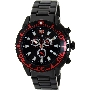 Swiss Precimax Men's Pulse Pro SP13102 Black Stainless-Steel Swiss Chronograph Watch With Black Dial