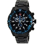 Swiss Precimax Men's Pulse Pro SP13103 Black Stainless-Steel Swiss Chronograph Watch With Black Dial