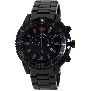 Swiss Precimax Men's Pulse Pro SP13104 Black Stainless-Steel Swiss Chronograph Watch With Black Dial