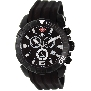 Swiss Precimax Men's Recon Pro Sport SP13116 Black Polyurethane Swiss Chronograph Watch With Black Dial