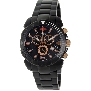 Swiss Precimax Men's Recon Pro SP13120 Black Stainless-Steel Swiss Chronograph Watch With Black Dial