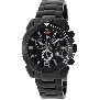 Swiss Precimax Men's Recon Pro SP13121 Black Stainless-Steel Swiss Chronograph Watch With Black Dial
