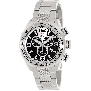 Swiss Precimax Men's Deep Blue Pro III SP13132 Silver Stainless-Steel Swiss Chronograph Watch With Silver Dial