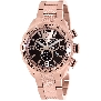Swiss Precimax Men's Deep Blue Pro III SP13134 Rose-Gold Stainless-Steel Swiss Chronograph Watch With Rose-Gold Dial