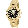 Swiss Precimax Men's Deep Blue Pro III SP13136 Gold Stainless-Steel Swiss Chronograph Watch With Gold Dial