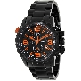 Swiss Precimax Men's Magnus Pro SP13138 Black Stainless-Steel Swiss Chronograph Watch With Black Dial