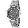 Swiss Precimax Women's Sophie Ceramic Elite SP13165 Grey Ceramic Swiss Chronograph Watch With Mother-Of-Pearl Dial