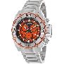 Swiss Precimax Men's Tactical Pro SP13176 Silver Stainless-Steel Swiss Chronograph Watch With Orange Dial