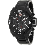 Swiss Precimax Men's Tactical Pro SP13177 Black Stainless-Steel Swiss Chronograph Watch With Black Dial