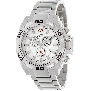 Swiss Precimax Men's Quantum Pro SP13179 Silver Stainless-Steel Swiss Chronograph Watch With White Dial