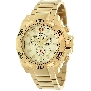 Swiss Precimax Men's Quantum Pro SP13184 Gold Stainless-Steel Swiss Chronograph Watch With Gold Dial