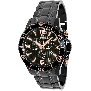 Swiss Precimax Men's Tarsis Pro SP13229 Black Stainless-Steel Swiss Chronograph Watch With Black Dial