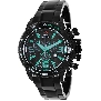 Swiss Precimax Men's Forge Pro SP13243 Black Stainless-Steel Swiss Chronograph Watch With Black Dial