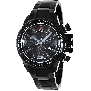 Swiss Precimax Men's Forge Pro SP13244 Black Stainless-Steel Swiss Chronograph Watch With Black Dial