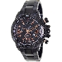 Swiss Precimax Men's Forge Pro SP13245 Black Stainless-Steel Swiss Chronograph Watch With Black Dial