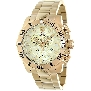 Swiss Precimax Men's Crew Pro SP13256 Gold Stainless-Steel Swiss Chronograph Watch With Gold Dial