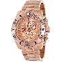 Swiss Precimax Men's Crew Pro SP13258 Rose-Gold Stainless-Steel Swiss Chronograph Watch With Rose-Gold Dial