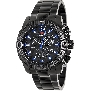 Swiss Precimax Men's Legion Pro SP13263 Black Stainless-Steel Swiss Chronograph Watch With Black Dial