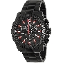 Swiss Precimax Men's Legion Pro SP13264 Black Stainless-Steel Swiss Chronograph Watch With Black Dial