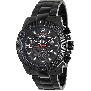 Swiss Precimax Men's Legion Pro SP13265 Black Stainless-Steel Swiss Chronograph Watch With Black Dial