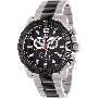 Swiss Precimax Men's Legion Pro SP13270 Two-Tone Stainless-Steel Swiss Chronograph Watch With Black Dial