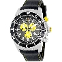 Swiss Precimax Men's Pursuit Pro Sport SP13276 Black Silicone Swiss Chronograph Watch With Grey Dial