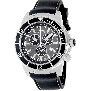 Swiss Precimax Men's Pursuit Pro Sport SP13278 Black Silicone Swiss Chronograph Watch With Grey Dial