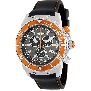 Swiss Precimax Men's Pursuit Pro Sport SP13279 Black Silicone Swiss Chronograph Watch With Grey Dial