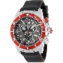 Swiss Precimax Men's Pursuit Pro Sport SP13280 Black Silicone Swiss Chronograph Watch With Grey Dial