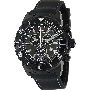 Swiss Precimax Men's Pursuit Pro Sport SP13283 Black Silicone Swiss Chronograph Watch With Grey Dial