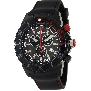Swiss Precimax Men's Pursuit Pro Sport SP13284 Black Silicone Swiss Chronograph Watch With Grey Dial