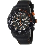 Swiss Precimax Men's Pursuit Pro Sport SP13285 Black Silicone Swiss Chronograph Watch With Grey Dial