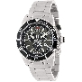 Swiss Precimax Men's Pursuit Pro SP13291 Silver Stainless-Steel Swiss Chronograph Watch With Grey Dial