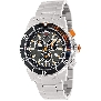 Swiss Precimax Men's Pursuit Pro SP13292 Silver Stainless-Steel Swiss Chronograph Watch With Grey Dial