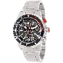 Swiss Precimax Men's Pursuit Pro SP13293 Silver Stainless-Steel Swiss Chronograph Watch With Grey Dial