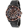 Swiss Precimax Men's Pursuit Pro SP13294 Black Stainless-Steel Swiss Chronograph Watch With Grey Dial