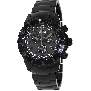 Swiss Precimax Men's Pursuit Pro SP13295 Black Stainless-Steel Swiss Chronograph Watch With Grey Dial