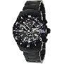 Swiss Precimax Men's Pursuit Pro SP13296 Black Stainless-Steel Swiss Chronograph Watch With Grey Dial