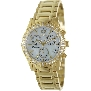 Swiss Precimax Women's Desire Elite Diamond SP13301 Gold Stainless-Steel Swiss Chronograph Watch With Mother-Of-Pearl Dial