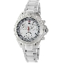Swiss Precimax Women's Manhattan Elite SP13308 Silver Stainless-Steel Swiss Chronograph Watch With Silver Dial
